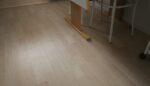 Nyt køkken gulv